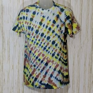 Hand tie dyed comfort soft t-shirt size medium